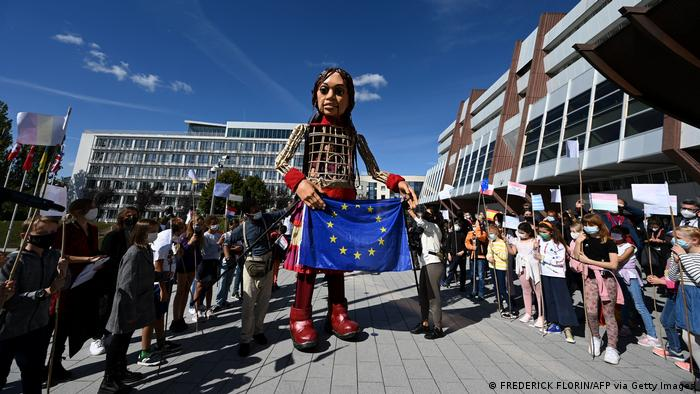 Амаль у Европарламента
