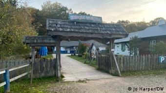 Ресторан в деревне Буды близ белорусской границы