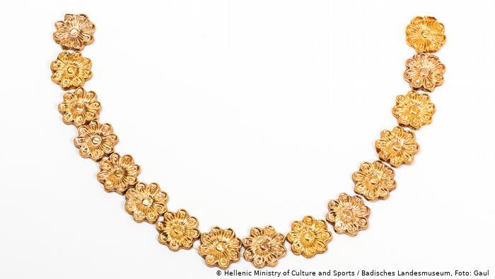 Ожерелье из золота, XIV веком до н.э.