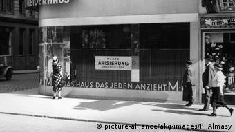 Сразу же после аншлюса в Австрии началось преследование евреев