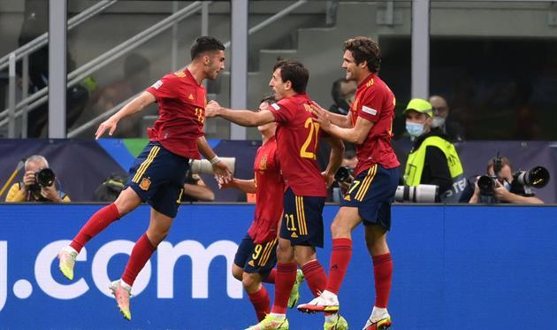 Игроки Испании, Getty Images