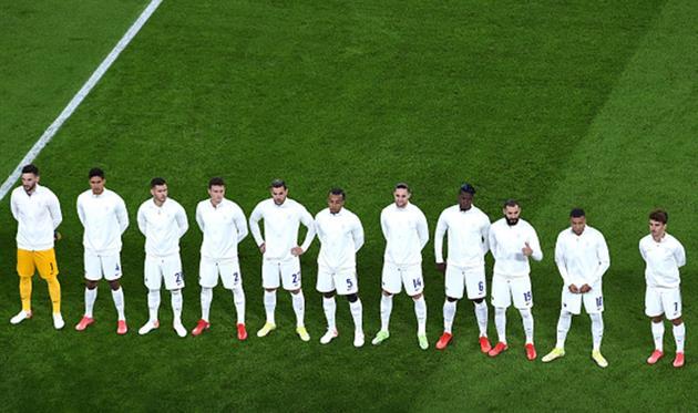 Игроки сборной Франции, Getty Images