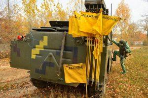 Майбутні танкісти опанували РХБ захист