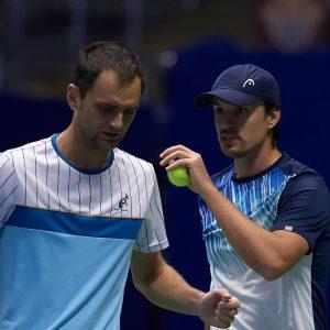Молчанов и Недовесов — в парном четвертьфинале на турнире ATP в Антверпене