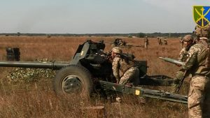 На одному із загрозливих напрямків протитанкісти відповіли на прорив бронетехніки умовного противника