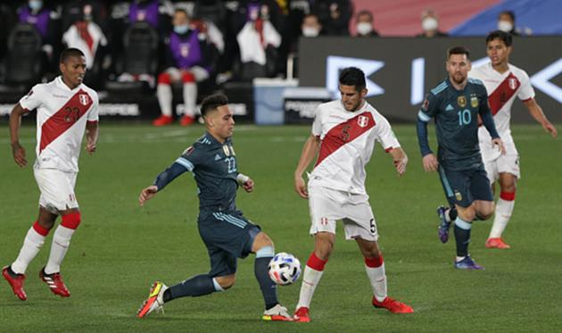 Аргентина - Перу, Getty Images