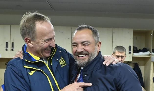 Александр Петраков и Андрей Павелко, facebook.com/andriy.pavelko