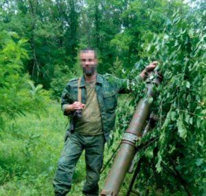СБУ допросила боевика, который проводил разведку позиции ВСУ под видом разминирования