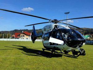 В больницу во Львове вертолетом доставили мальчика в состоянии мозговой комы