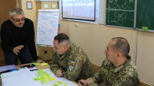 Як курсанти-зв'язківці для ліцеїстів проводили заняття з предмета «Захист України»