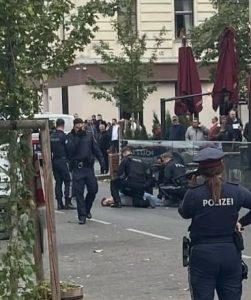 Зашел в ресторан и схватил нож: в Вене мужчина ранил четырех человек